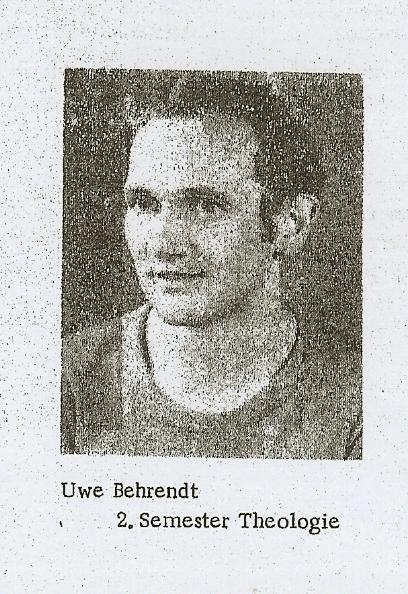 Uwe Behrendt 1975