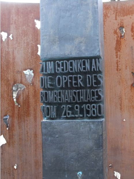 Denkmal Oktoberfestattentat